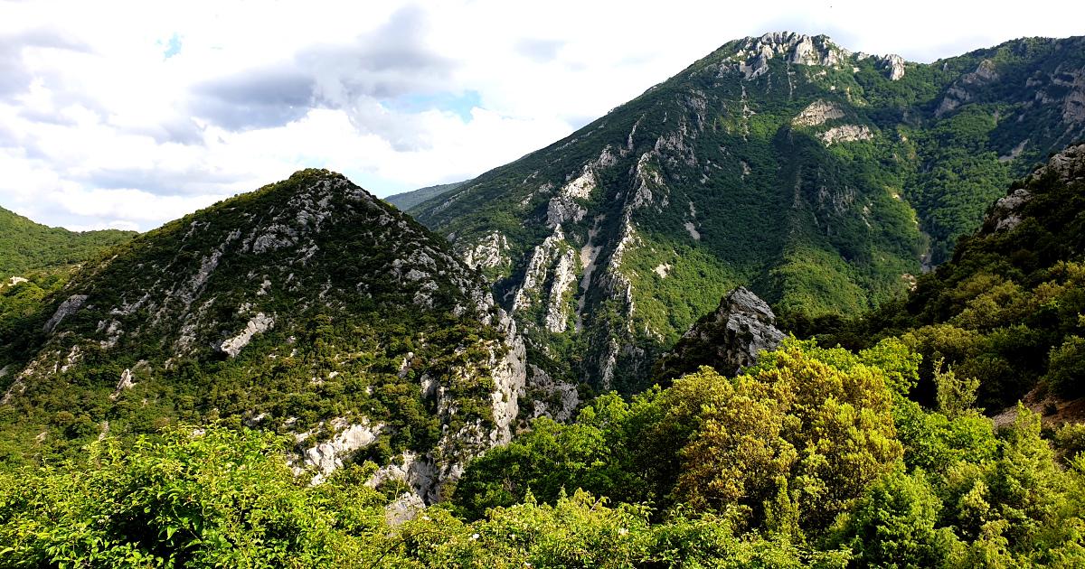 Горы Вердонского ущелья