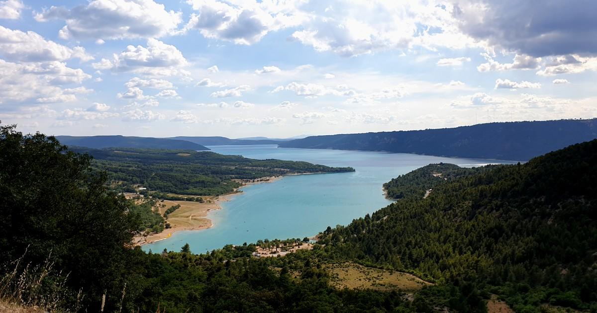 Озеро Sainte-Croix