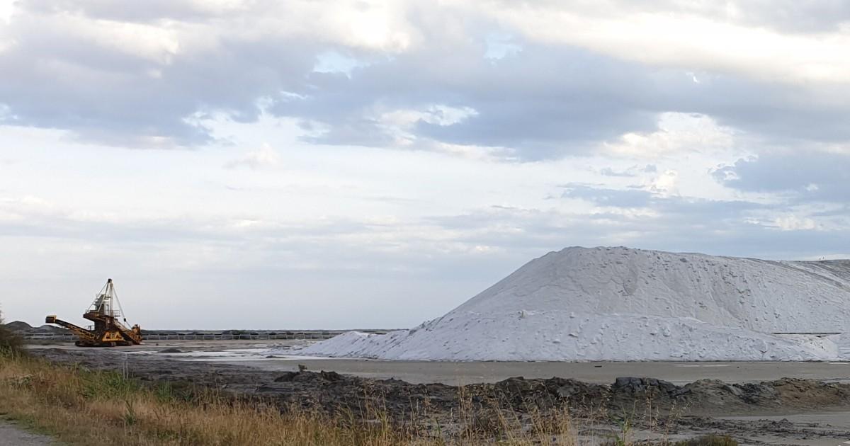 Производство соли в Камарге